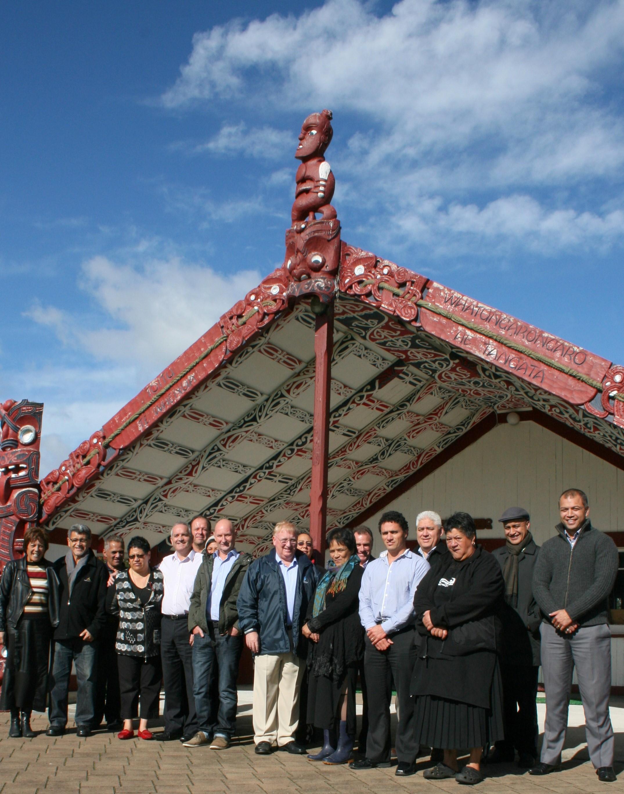 ICP - Sanford Executive Hui, Rangiwaea Marae, Rangiwaea Island, TAURANGA (2012)